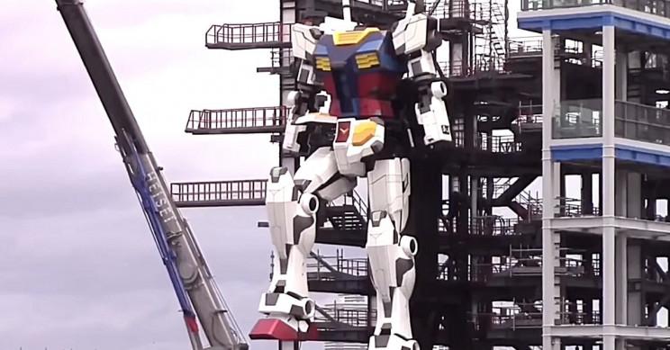 Engineers Will Take 60-Foot Gundam for Walk Despite COVID-19 Crisis