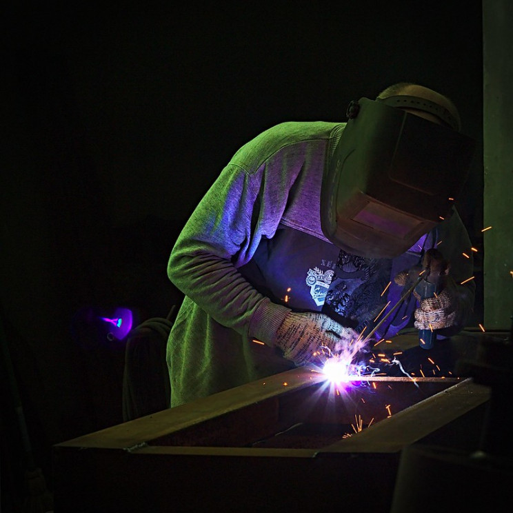 types of welding arc