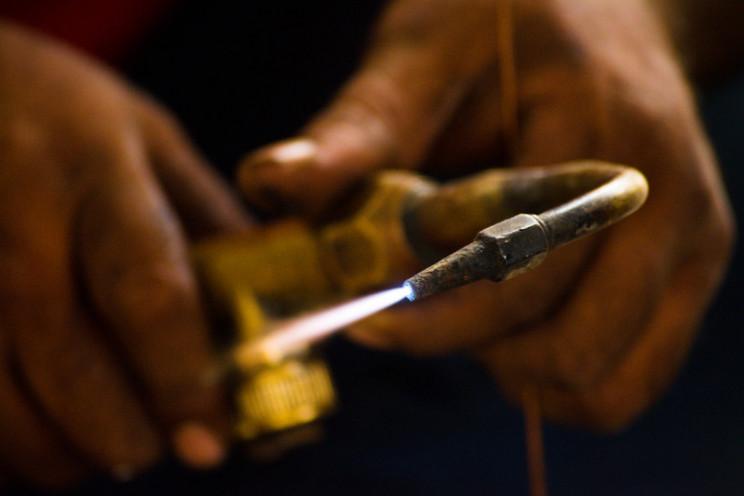 types of welding gas