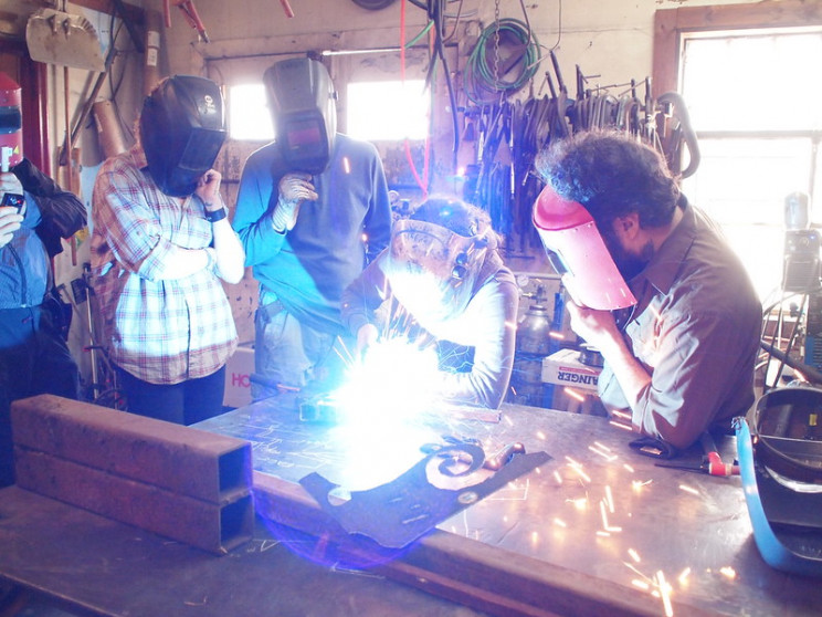 types of welding TIG
