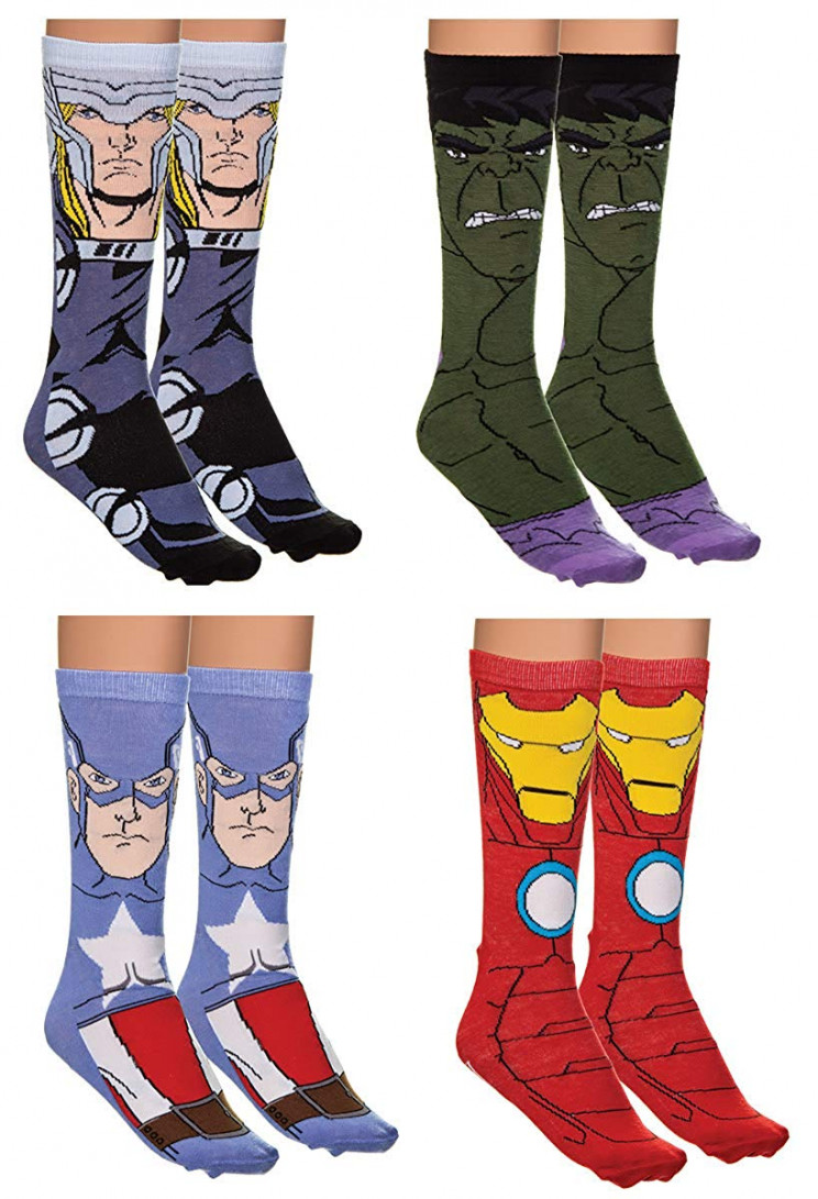 Marvel-avengers-socks