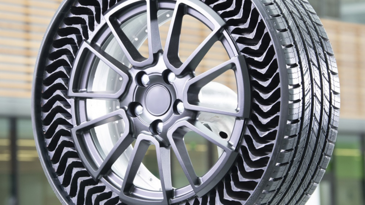 Michelin's New Airless Tires Just Hit Public Streets For the First Time