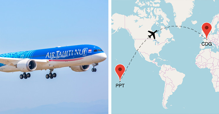 Passenger Flight Breaks Record, Traveling 9,764 Miles Because of Travel Restrictions