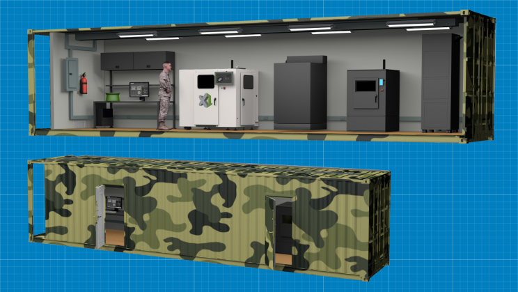 US Military to Have 3D-Printing Factories in Shipping Containers