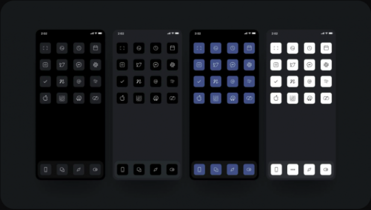 Designer Turns iPhone Icons Black, Makes $100,000 in a Week