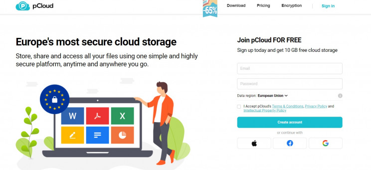 eu-based cloud storage pcloud