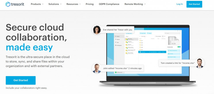 eu based cloud providers tresorit