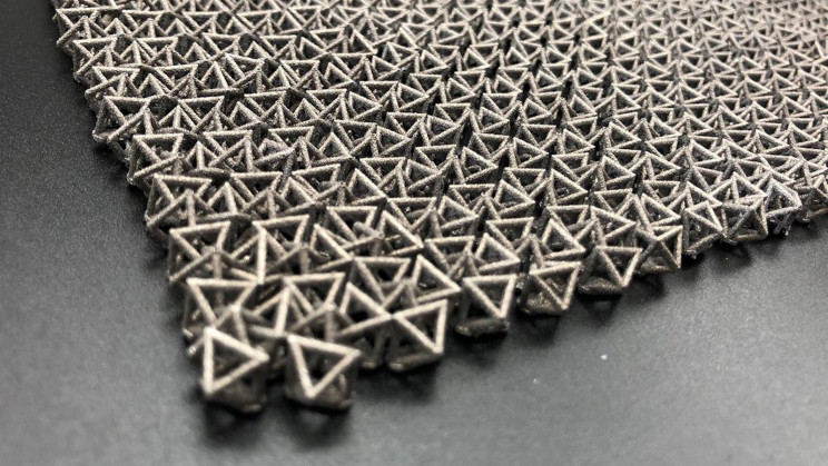 Chain Mail-Inspired Fabric Supports 50 Times Its Own Weight