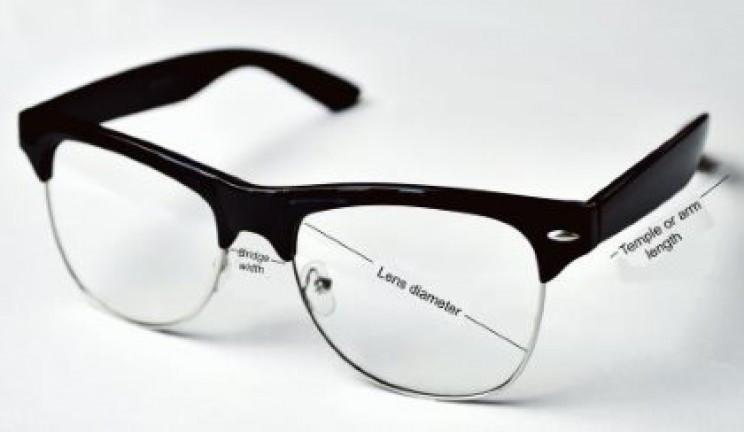 Eyeglass measurements
