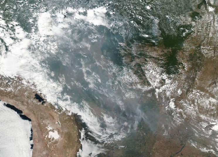 NASA fires Amazon