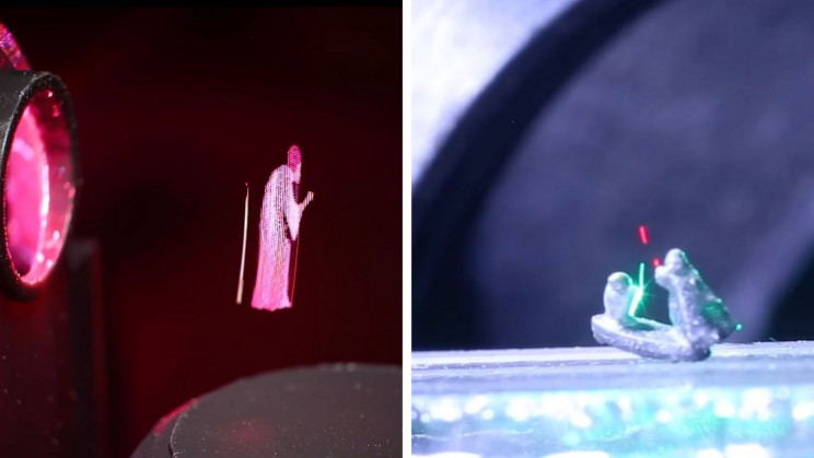 Researchers Create Star Wars-Inspired Holograms and 'Lightsabers'