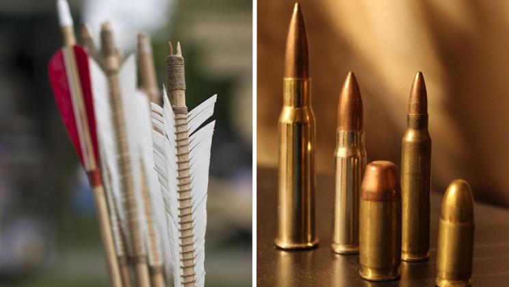 Bullets vs. Arrows: Which One Penetrates Sandbags?