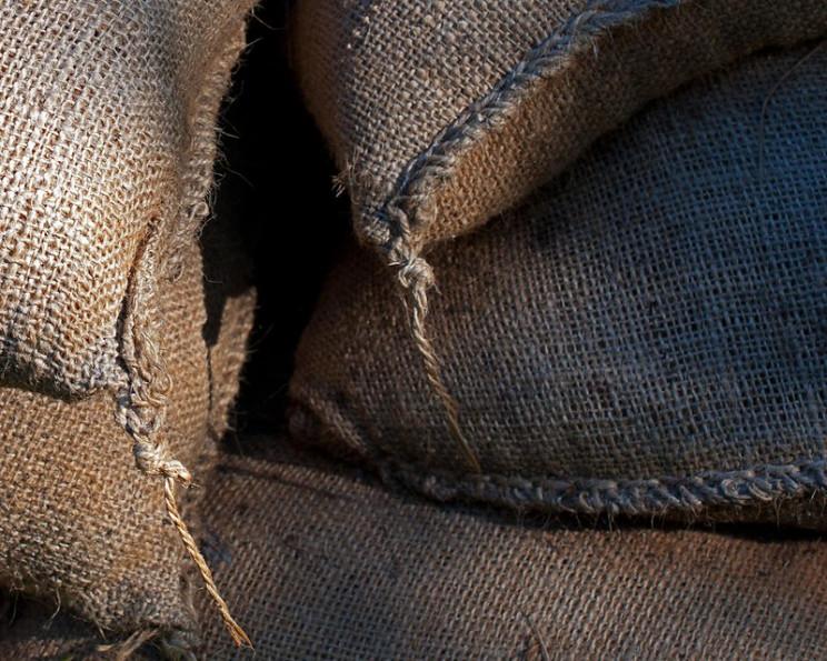 bullets versus sandbags