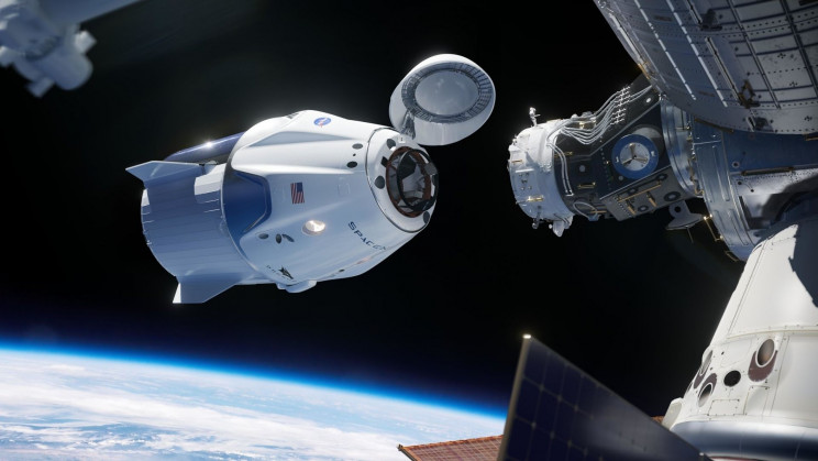 An Unidentified Object Was Flying Just 28 Miles From SpaceX's Spacecraft