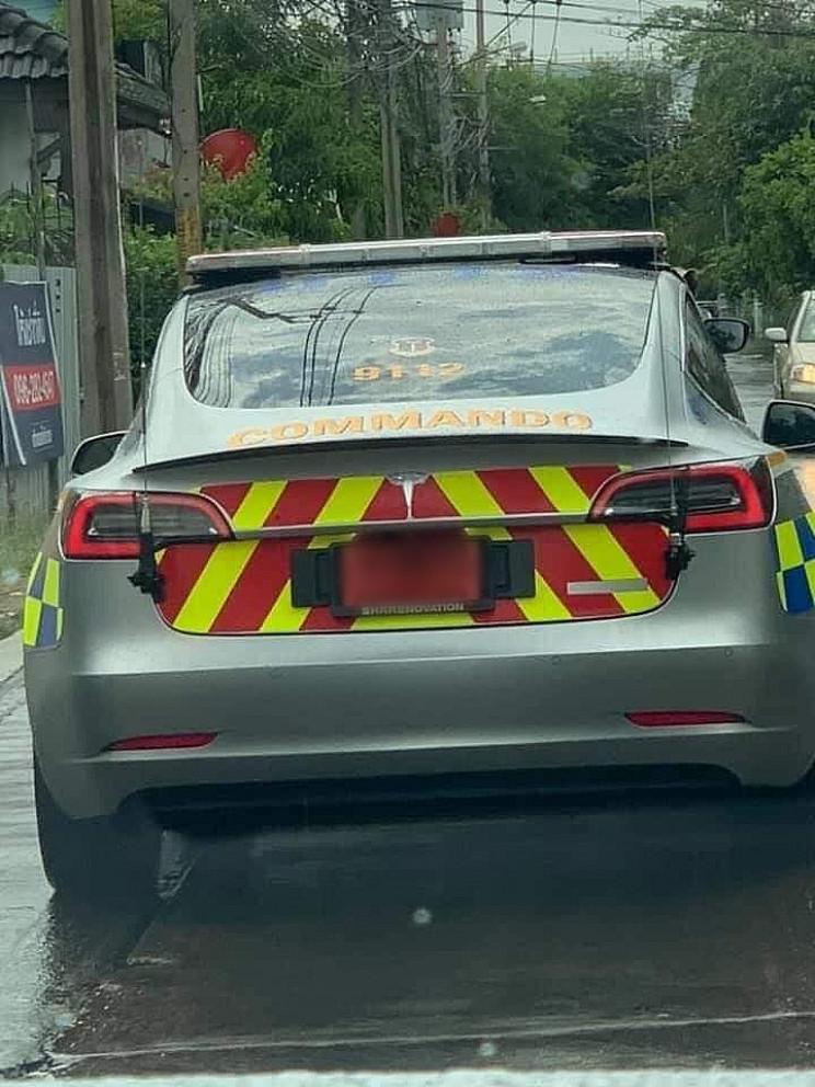 Thai Police Add Tesla Model 3 to Their Fleet of Patrol Vehicles, Costing $385k Each