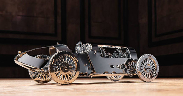 A DIY Model Kit to Build the Car of Your Dreams