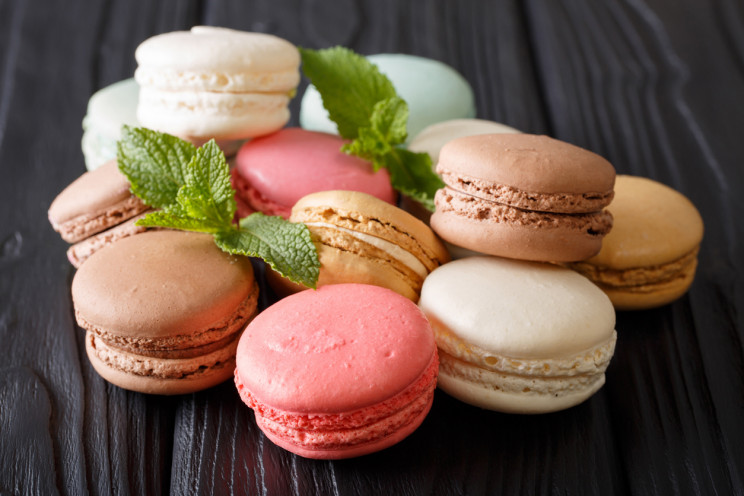 Internet of senses, macaroons, any flavour you want