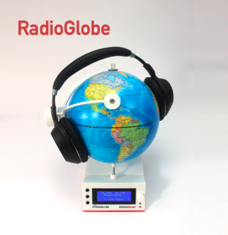 Spin the DIY RadioGlobe to Find Thousands of Radio Stations