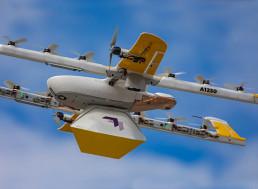 Drone Delivery Service Wing Reaches 100,000 Deliveries Milestone
