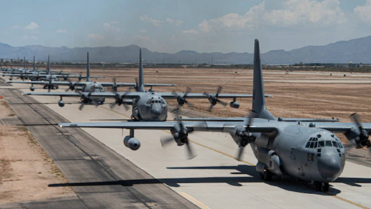 55th Electronic Combat Group Performs Show-of-Force Readiness Exercise