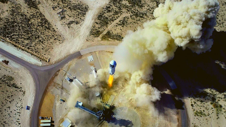 Jeff Bezos' Blue Origin Is Upgrading Its Rocket With Lunar Gravity