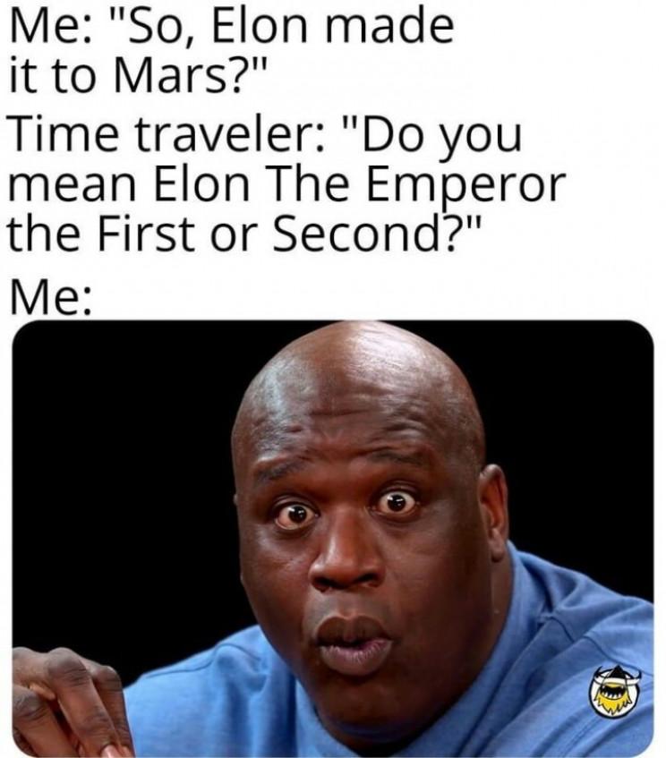 time travel memes elon musk