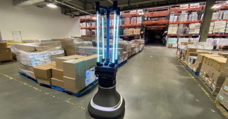 UV Robot Will Disinfect the Greater Boston Food Bank