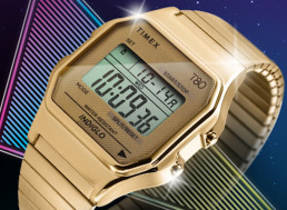 Choosing Classic over Smartwatch, Timex Revives Its Digital '80s Watch