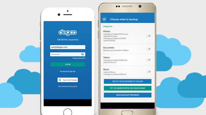 Land 10TB of Ultra-Secure Cloud Storage for Life with Degoo Premium