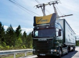 Germany Open Its First eHighway System for Trucks