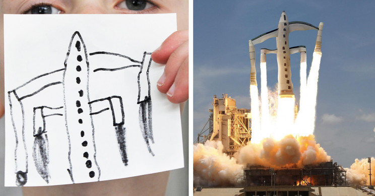 11 Spectacular Vehicle Designs Drawn and Reimagined by Children
