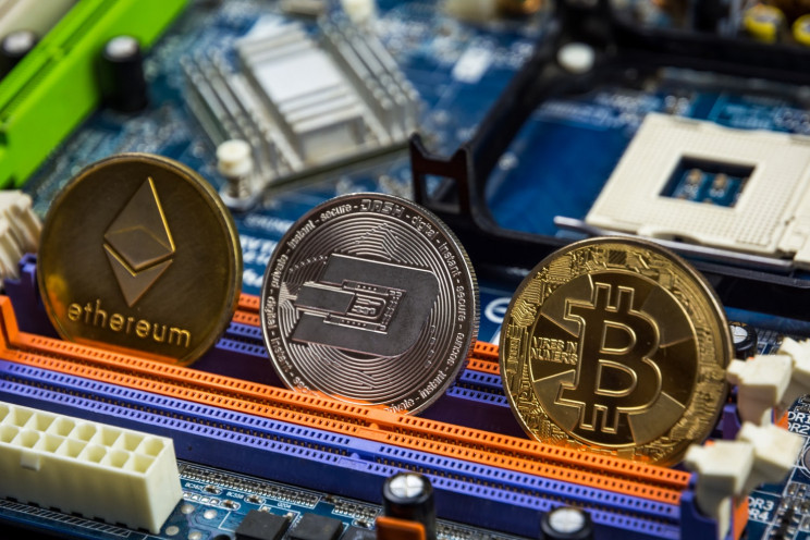 Different types of cryptocurrencies.