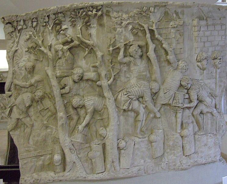 Frieze on Trajan's Column