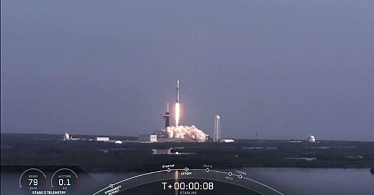 SpaceX Falcon 9 60 Starlink Satellites