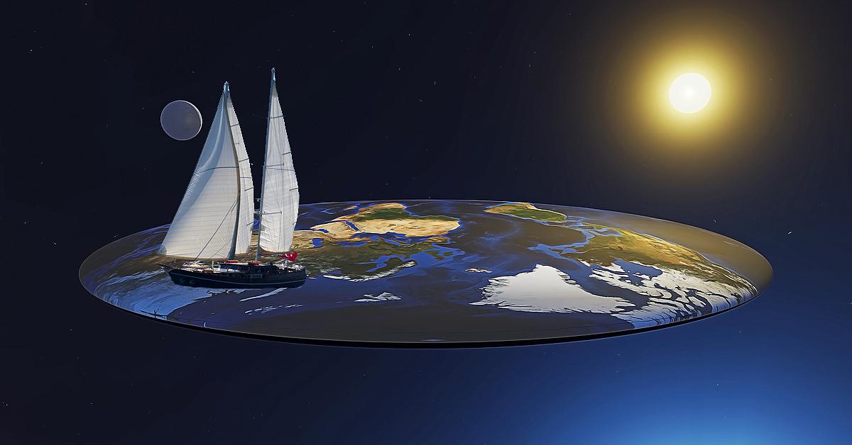 degrasse tyson flat earth