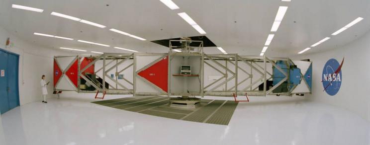 centrifrugal force NASA simulator
