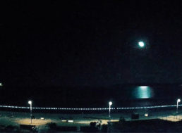 Watch a Bright Meteor Flash Over the English Channel