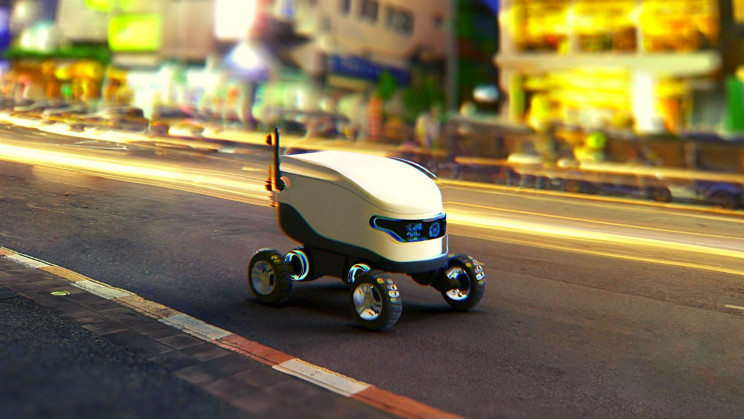 Amazon Just Filed a Patent for Delivery Robots
