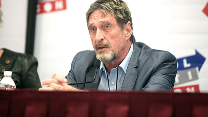 John McAfee, Antivirus Software Innovator, Has Just Died of Apparent Suicide