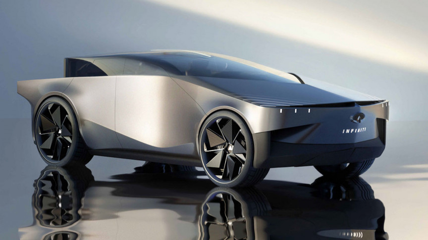 The Infiniti QX90 Is a Tesla Cybertruck Clone With Curves Instead of Angles
