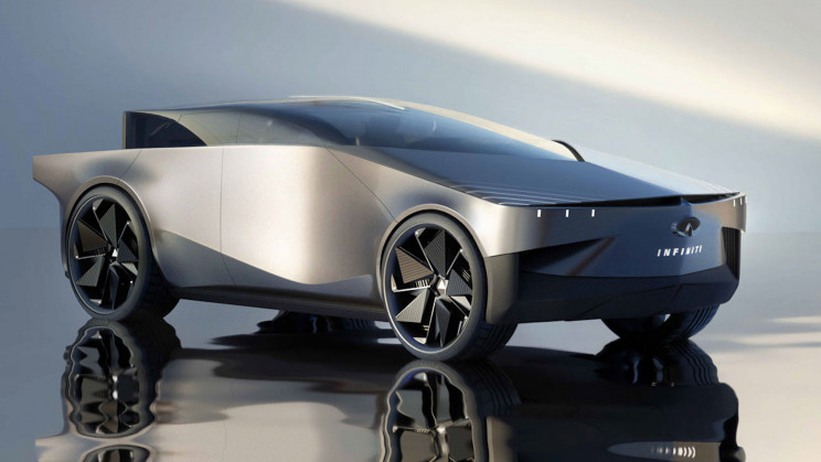 The Infiniti-Inspired QX90 Is a Tesla Cybertruck Clone With Curves Instead of Angles