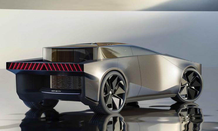 Infiniti QX90 - клон Tesla Cybertruck с кривыми вместо углов