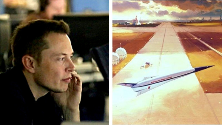 Musk Says He Is 'Dying' to Build a Supersonic eVTOL Jet
