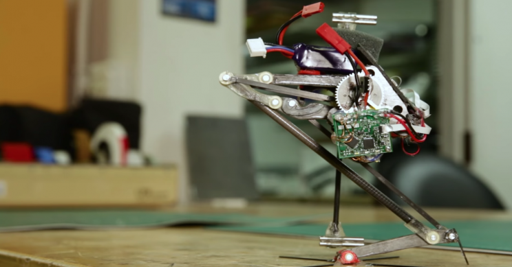 Salto the Jumping Robot Can Now Execute Precision Landings Like a Gymnast