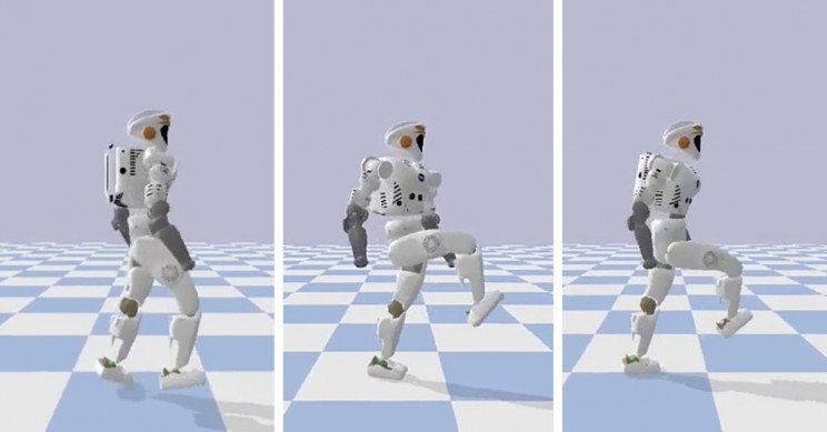Robots Learn Different Locomotion Behaviors Using Human Demonstrations
