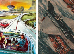 11 Illustrations of How People in the Past Imagined Life Today