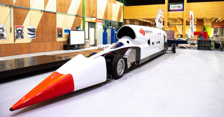 The Bloodhound Supersonic Car Is Ready for High-Speed Trials