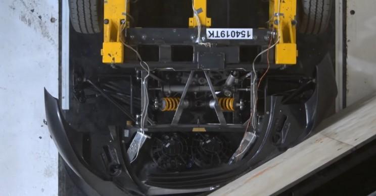 Video Shows How Hypercar Maker Crash Tests Million Dollar Car