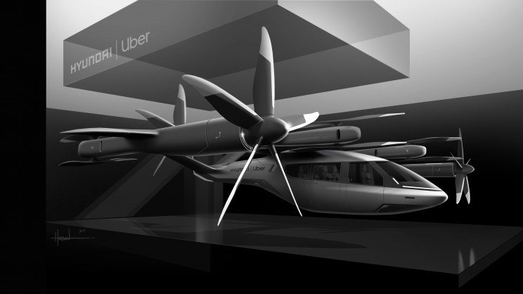 Uber and Hyundai Announce Partnership to Make Flying Electric Taxis
