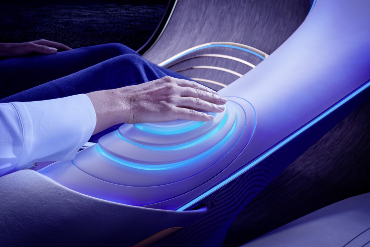 """Mercedes-Benz Unveils New Concept Car Inspired by Movie """"Avatar"""""""